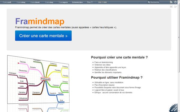 Framindmap Logiciel Libre Gratuit Et En Ligne De Carte Heuristique Technologie Education Culture